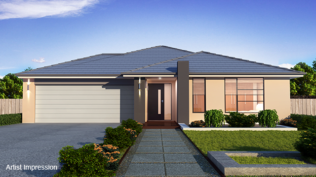 Melton South VIC House & Land Packages: 4 bedrooms + study